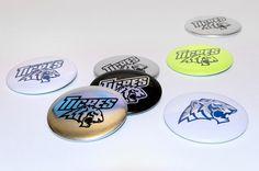 Tigres de garges roller hockey team #badges