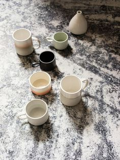 via - A well traveled woman #ceramics #mugs #clay