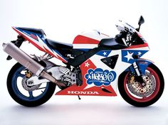 Honda | Design, Product, Artwork, Projects, Roots, Media | Eric Haze #motorbike #red #haze #eric #stars #superbike #blue