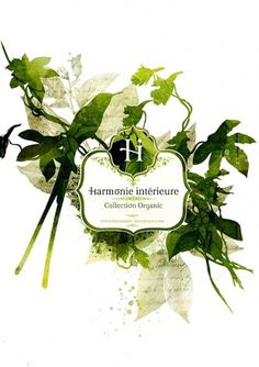 Harmonie intérieure on the Behance Network #branding #design #nature #logo #organic #green