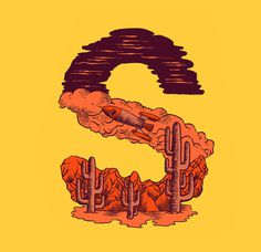 s - Heymikel #letters #lettering #illustration #type #typographie #heymikel