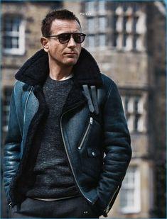 This Ewan McGregor Winter Shearling Jacket is propelled by Ewan McGregor. Ewan McGregor is a brilliant Scottish entertainer and director. Buy Now. #ewanmcgregor #winterjacket #shearlingjacket #scottishdirector #fashion #fashionformen #trend #winterfashion