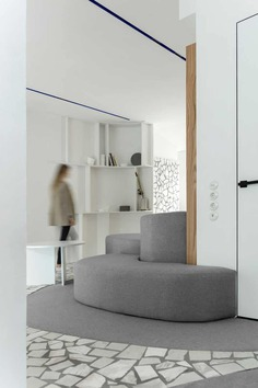 curved shapes / Maxim Kashin Architects
