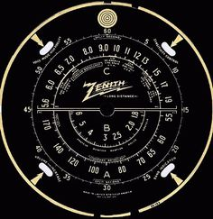 FFFFOUND! | Antique Radio Tuning Dials 1 #vintage
