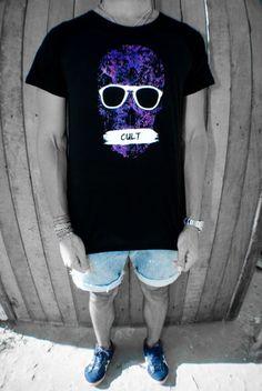 Cult Skull #glasses #carioca #shirt #cult #tee #skull #soul