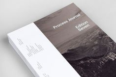 Process Journal: Edition 7 — Exclusive Images #layout #book