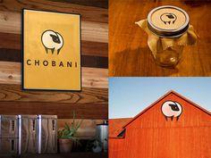Matt Delbridge / Logo concept Chobani #delbridge #dairy #branding #matt #identity #logo #chobani