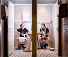 The Toilet Diaries by Gerben Grotenhuis #photography