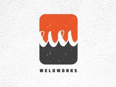 Dribbble - Weld Works by Shannon Hatch #branding #design #weldworks #identity #logo