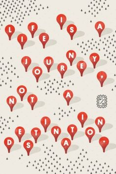 Wander Blog #stamp #mcquade #mike #map #pin #illustration #wander #forest