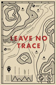 No. 50 / Travis Ladue #design #maps #travis ladue