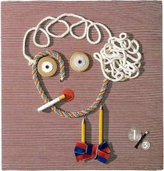 ANNAND, Douglas   The typist #annand #craft #douglas #portrait #decoration