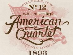 Dribbble - #lettering #american #the #alessio #vintage #joseph #hand #typography