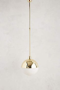 Anchored Orb Pendant, Anthropologie