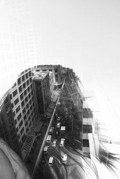 City shadow.