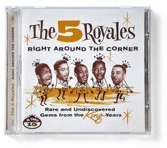 The 5 Royales | Ivan Castro #lettering #ivan #cover #music #castro