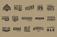 Summit Brewing Logos #packaging #beer