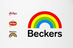 BVD — Beckers #refinements #beckers #print #bvd #logo #rainbow