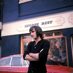 Retro Football: George Best's Fashion Boutique In Manchester » Who Ate all the Pies #legend #fotography #george #soccer #best #1970s #football