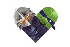 Love and Hate Versus Hearts by Dan Matutina | 123 Inspiration #versus #love #illustrations