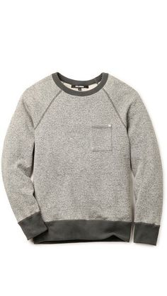 Baldwin Denim The Crew Sweatshirt #sweatshirt