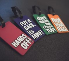 Luggage Tag Fun #gadgets