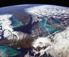 You Are Here by Astronaut Chris Hadfield #inspiration #photography #space