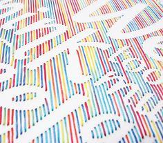 Wisdom Handmade Typography Project 6 #type #image