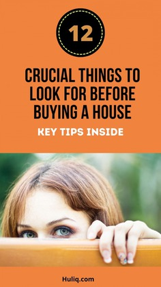 Crucial Things to Look at Before Buying a House Infographic