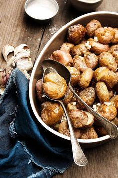 Punched potatoes #potato