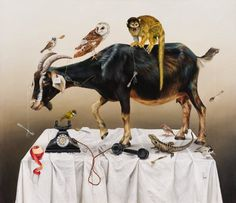 Kate Bergin | PICDIT #painting #animal #art