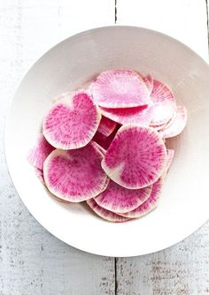 peeled radishes #radish #food