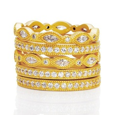 Signature Classic Marquise Eternity 5-Stack – Freida Rothman | Price: $215.00 | Product details @ https://bit.ly/2zDdrRN. Buy now! #Rings #Jewelry #Fashion #FreidaRothman #NYC #NewYork #Brooklyn