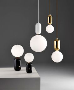 Aballs Collection Designed by Jaime Hayon - #lamp,#design,#lighting