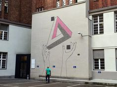 Facebook #tape #mural #graffiti #design #illustration #art #berlin