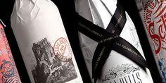 Bottle Sleeves for Safeway on the Behance Network #pack #paper #wine #bottle