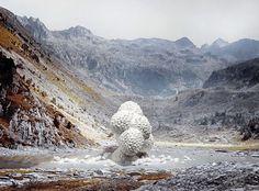 but does it float #fi #mountains #sci #landscape