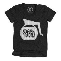 Coffee Ambigram shirt #international #texture #ambigram #conspiracy #coffee #typography