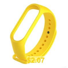 Smart #Accessories #Wristband #Replacement #Watch #Strap #for #Xiaomi #Mi #Band #4 #- #YELLOW