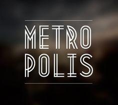 Metropolis free font | Fontfabric™ #font #metropolis