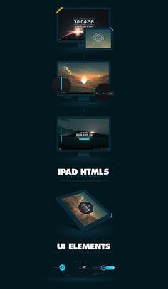 KLM SPACE vai designembraced.com #website #ipad #portfolio #ui