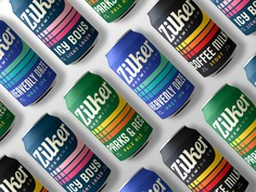 Beautiful vintage inspired packaging for Zilker Brewing Co.
