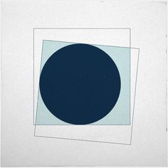 #368 New moon  A new minimal geometric composition each day