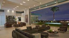 Stunning Beverly Hills House Designed by DJ Avicii's House Architects #interior #modern #design #living #room