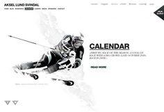 Apt - Nettsted Aksel Lund Svindal #web #athlete
