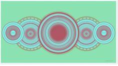 Tempus Fugit #circular #mandala #spatter