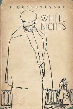 Tumblr #illustration #book cover #white nights