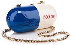 Prescription Chic! Pilule Bag by Christian Louboutin