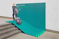 IBM's Smarter Cities Billboard Campaign #advertisement #billboard #campaign