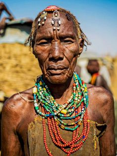 Omar Reda Documents The Beauty Of Tribal Women In Ethiopia